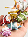 Christmas Tree Ornaments Christmas Tree Pendant Christmas Small Elderly Pendant Mixed 6-Colors