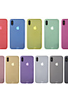 Case Kompatibilitás Apple iPhone X iPhone 8 Ultra-vékeny Fekete tok Tömör szín Kemény PC mert iPhone X iPhone 8 Plus iPhone 8 iPhone 7