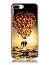 제품 iPhone X iPhone 8 케이스 커버 패턴 뒷면 커버 케이스 풍선 코끼리 소프트 TPU 용 Apple iPhone X iPhone 8 Plus iPhone 8 아이폰 7 플러스 아이폰 (7) iPhone 6s Plus iPhone 6
