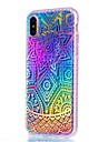 For iPhone X iPhone 8 iPhone 8 Plus Case Cover Plating Back Cover Case Mandala Soft TPU for Apple iPhone X iPhone 8 Plus iPhone 8 iPhone