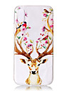 Case For Apple iPhone X iPhone X iPhone 8 iPhone 8 Plus Ultra-thin Transparent Pattern Back Cover Animal Soft TPU for iPhone X iPhone 8