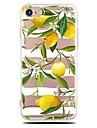 케이스 제품 iPhone X iPhone 8 울트라 씬 투명 패턴 뒷면 커버 과일 소프트 TPU 용 iPhone X iPhone 8 Plus iPhone 8 아이폰 7 플러스 아이폰 (7) iPhone 6s Plus iPhone 6 Plus