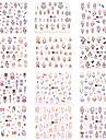 Стикер Шаблон шаблона для ногтей Повседневные Мода Высокое качество