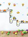 Muoti Liikenne Wall Tarrat Lentokone-seinätarrat Koriste-seinätarrat, Muovi Kodinsisustus Seinätarra Seinä
