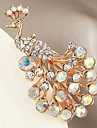 Synthetic Diamond Brooches - Zircon Animal Classic Brooch Gold For Gift / Evening Party