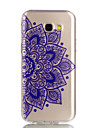 For Case Cover Transparent Pattern Back Cover Case Mandala Soft TPU for Samsung Galaxy A3(2017) A5(2017)