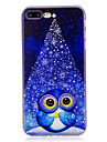 Case For iPhone X iPhone 8 Plus Pattern Back Cover Owl Soft TPU for iPhone X iPhone 8 Plus iPhone 8 iPhone 7 Plus iPhone 7 iPhone 6s Plus