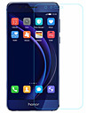 Screen Protector Huawei for Honor 8 Tempered Glass 1 pc Front Screen Protector 2.5D Curved edge 9H Hardness High Definition (HD)