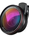 2 en 1 kit profesional de lente de camara hd 0.6x lente gran angular 10x lente macro universal clip en lente de telefono celular para
