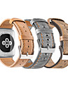 Bracelet de Montre  pour Apple Watch Series 3 / 2 / 1 Apple Bracelet Sport Vrai Cuir Sangle de Poignet