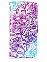 For Case Cover Card Holder Wallet with Stand Flip Pattern Full Body Case Flower Hard PU Leather for Samsung Galaxy S8 Plus S8 S7 edge S7