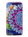Case For J7 (2017) J5 (2017) Glow in the Dark IMD Pattern Back Cover Mandala Soft TPU for J7 (2016) J7 (2017) J5 (2016) J5 (2017) J3 J3