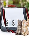 Кошка Собака Слинг Животные Корпусы Компактность Дышащий Однотонный Контрастных цветов Красный