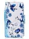 케이스 제품 Apple iPhone X iPhone 8 지갑 카드 홀더 스탠드 플립 패턴 풀 바디 버터플라이 꽃장식 하드 인조 가죽 용 iPhone X iPhone 8 Plus iPhone 8 아이폰 7 플러스 아이폰 (7) iPhone 6s