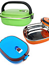 Kitchen Organization Lunch Box Stainless Steel Easy to Use 1pc