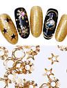 1 Metallic Fashion Christmas Decals High Quality Nail Art Design Daily