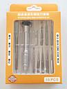 Сотовый телефон Набор инструментов для ремонта Отвертка Пластмасса / Stianless Steel Pry Инструменты для ремонта