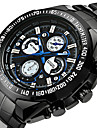Men\'s Quartz Wrist Watch Military Watch Sport Watch Japanese Alarm Calendar / date / day Chronograph Water Resistant / Water Proof
