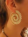 Dames Ring oorbellen - Bloemen / Botanische, Bloem, Golf Goud / Zilver Voor Bruiloft Feest Lahja