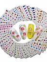 30 Decalques Conjunto Etiquetas de unhas 3D Outras decoracoes Fashion Diario Alta qualidade