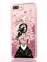 Case For iPhone 7 Plus Flowing Liquid Pattern Back Cover Sexy Lady Glitter Shine Hard PC for iPhone 7 Plus iPhone 7 iPhone 6s Plus iPhone
