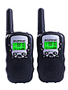 BAOFENG T3 Handheld 1.5KM-3KM 1.5KM-3KM Walkie Talkie Two Way Radio / 2.5