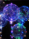 LED Lighting LED Bubble balloon Toys Holiday Birthday Glow in the Dark New Design Kid\'s Adults\' 1pcs Pieces