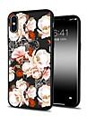 Coque Pour Apple iPhone X / iPhone 8 Plus Motif Coque Fleur Flexible TPU pour iPhone X / iPhone 8 Plus / iPhone 8