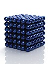 216 pcs 3mm Magnet Toy Magnetic Blocks Magnetic Balls Building Blocks Magnetic Cat Eye Sports Kid\'s / Adults\' Boys\' Girls\' Toy Gift / Super Strong Rare-Earth Magnets / Neodymium Magnet