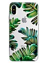 Coque Pour Apple iPhone X iPhone 8 Plus Motif Coque Fleur Flexible TPU pour iPhone X iPhone 8 Plus iPhone 8 iPhone 7 Plus iPhone 7 iPhone