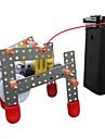 로봇 교육용 장난감 장난감 기계 로봇 건축 워킹 노블티 DIY 교육 아동 조각