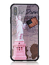 Case For Apple iPhone X iPhone 8 Shockproof Pattern Back Cover Word / Phrase Flag Hard Tempered Glass for iPhone X iPhone 8 Plus iPhone 8