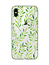 Coque Pour iPhone X iPhone 8 Transparente Motif Coque Arriere Arbre Flexible TPU pour iPhone X iPhone 8 Plus iPhone 8 iPhone 7 Plus