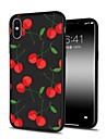 Case For Apple iPhone X iPhone 8 Plus Pattern Back Cover Cartoon Fruit Soft TPU for iPhone X iPhone 8 Plus iPhone 8 iPhone 7 Plus iPhone