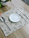 Ordinaire Melange lin & coton Carre Sets de table Decorations de table