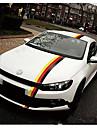 Adesivos de decalque de cor da bandeira alemao de 50 * 15cm para carros&caminhoes