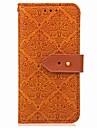 Кейс для Назначение OnePlus OnePlus 5T 5 Бумажник для карт Кошелек со стендом Флип Магнитный Чехол Геометрический рисунок Цветы Твердый
