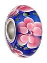 Joias DIY 5 Contas Preto Rosa perola Azul Claro Azul Real Redonda Bead 0.45 faca voce mesmo Pulseiras Colar