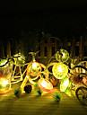 100cm Guirlandes Lumineuses 10 LED Lumiere 1M Blanc Chaud Connectible 1set
