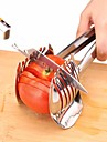 Stainless Steel Tomato Slicer Onion Lime Holder Fruit Cutter Potato Lemon Shreader Cut