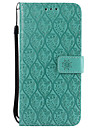 Etui Til Nokia Nokia 6 Nokia 5 Kortholder Lommebok med stativ Flipp Moenster Heldekkende etui Helfarge Blonde Print Hard PU Leather til