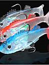 3 pcs Mamac za ribe Shad Lebegés Tengeri halászat Műlegyező horgászat Csalidobó / Léki horgászat / Sodort / Pergető horgászat / Folyóvíz horgászat / Pontyhorgászat