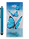 Case For Sony Xperia L2 Xperia XA2 Ultra Transparent Pattern Back Cover Butterfly Soft TPU for Xperia XA2 Xperia XA2 Ultra Xperia L2
