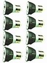 8pcs 5W 450 lm E14 E26/E27 Spoturi LED 1 led-uri COB Decorativ Alb Cald Alb Rece 220V-240V