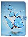 Custodia Per Amazon Kindle Fire hd 8(7th Generation, 2017 Release) / Kindle Fire hd 8(6th Generation, 2016 Release) Porta-carte di credito / Resistente agli urti / Con supporto Integrale Farfalla
