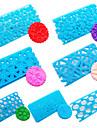 7pcs Прямоугольный Для приготовления пищи Посуда пластик Своими руками Формы для пирожных