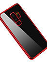Case For Samsung Galaxy S9 S9 Plus Plating Back Cover Solid Color Soft TPU for S9 Plus S9 S8 Plus S8