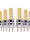 YWXLIGHT® 6pcs 4W 300-400lm GY6.35 LED Bi-pin Lights T 12 LED Beads SMD 5730 Decorative Warm White Cold White 12V 12-24V
