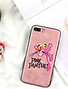 Кейс для Назначение Apple iPhone X / iPhone 7 Plus С узором Кейс на заднюю панель Мультипликация Мягкий текстильный для iPhone X / iPhone 8 Pluss / iPhone 8