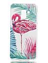 Capinha Para Samsung Galaxy A7 (2018) A5 (2018) Estampada Capa traseira Flamingo Macia TPU para A5(2018) A7(2018) A3 (2017) A5 (2017)